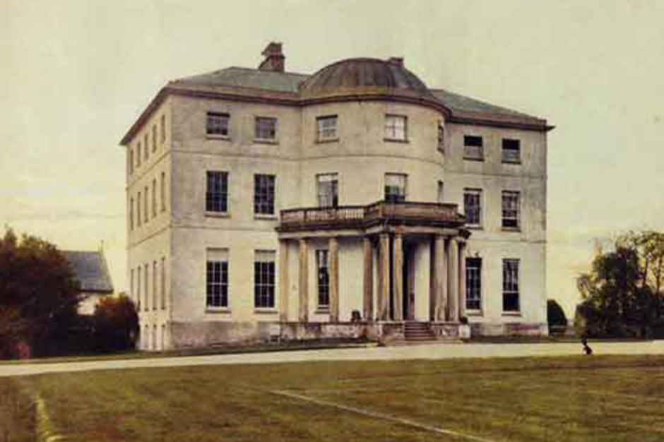 The original Brocton Hall